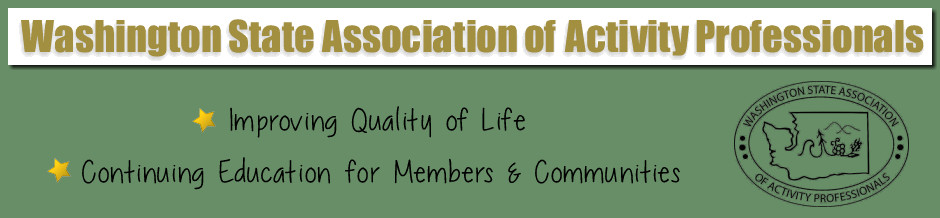 Washington State Association of Activity Professionals
